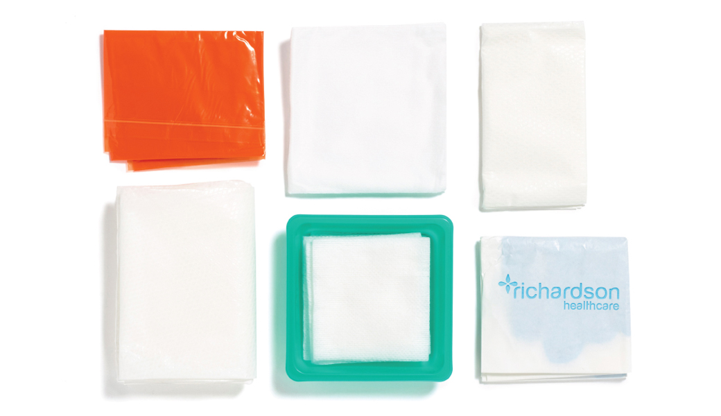 Asepsis pack contains of softswabs, tray.