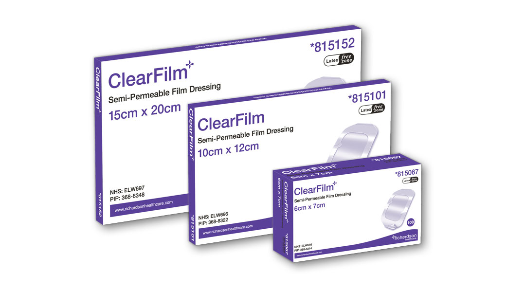 ClearFilm Transparent Film Dressing 3 boxes.