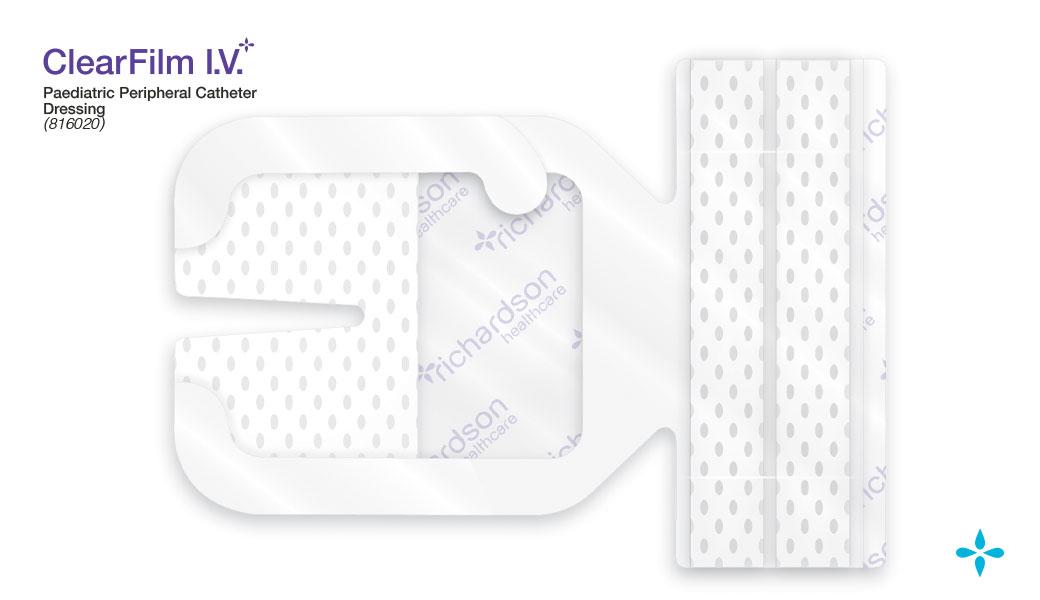 ClearFilm-IV - Paediatric Peripheral Catheter Dressing