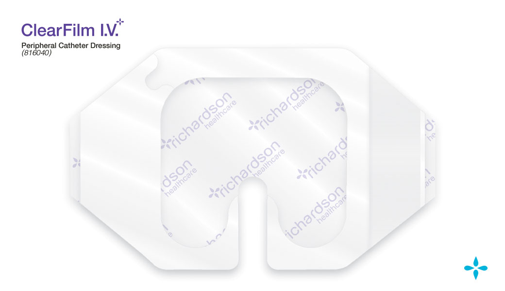 ClearFilm-IV - Non Bordered Peripheral Dressing