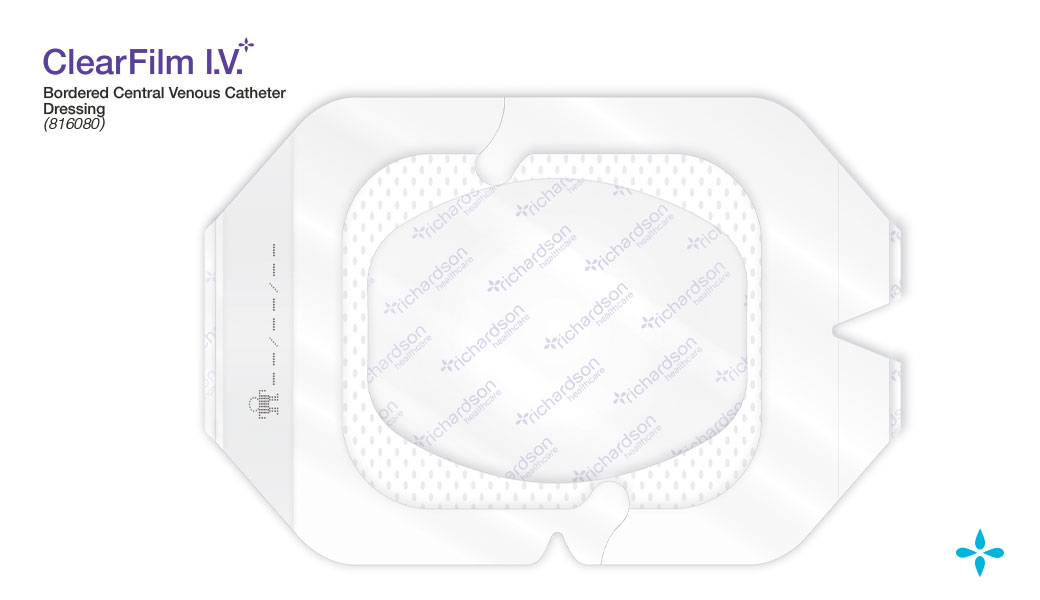 ClearFilm-IV - Bordered Central Venous Catheter Dressing