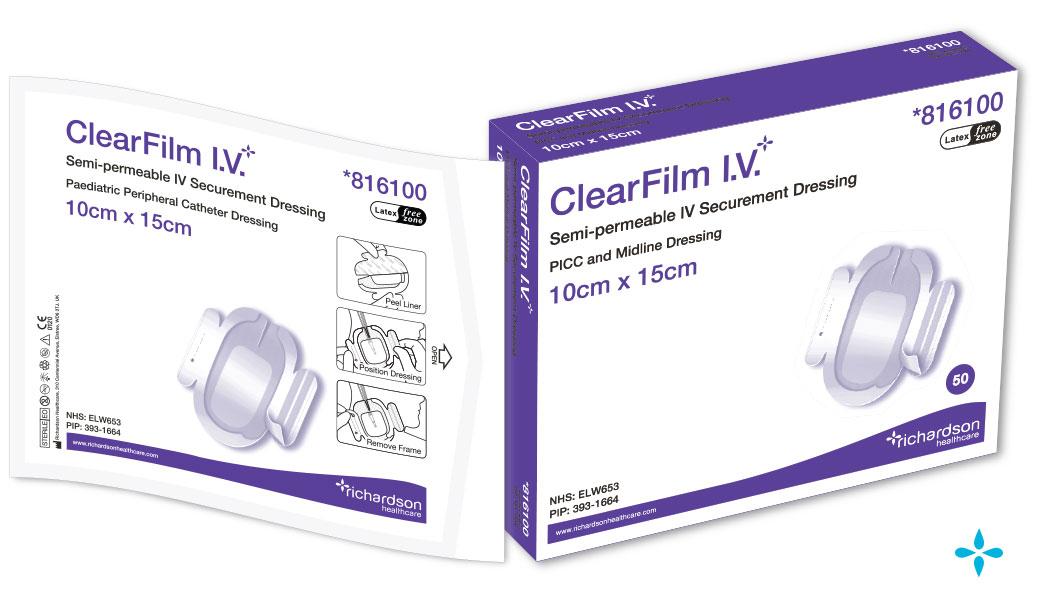 ClearFilm-IV - PICC Line Dressing, Midline Dressing