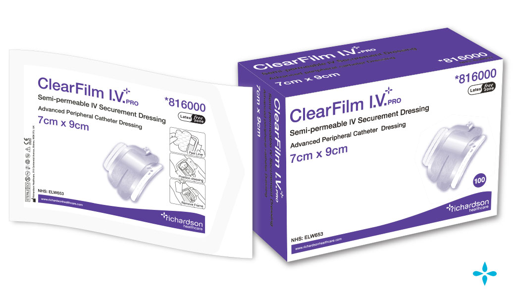 ClearFilm-IV-Pro - Advanced Peripheral Catheter Dressing