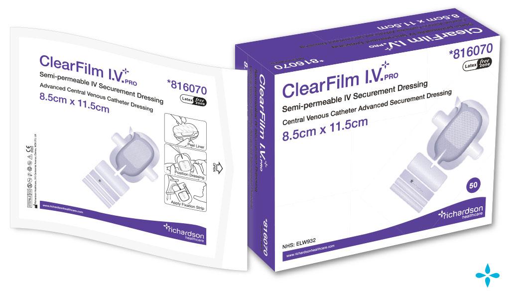 ClearFilm-IV-Pro - CVC Advanced Securement Dressing