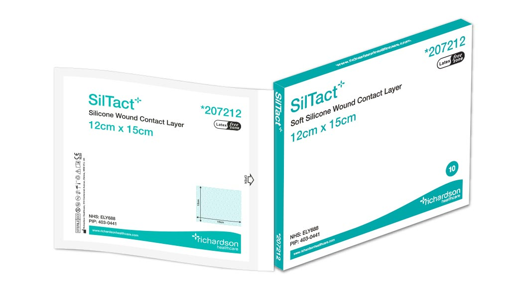 SilTact - Silicone Wound Contact Layer - Richardson Healthcare Ltd