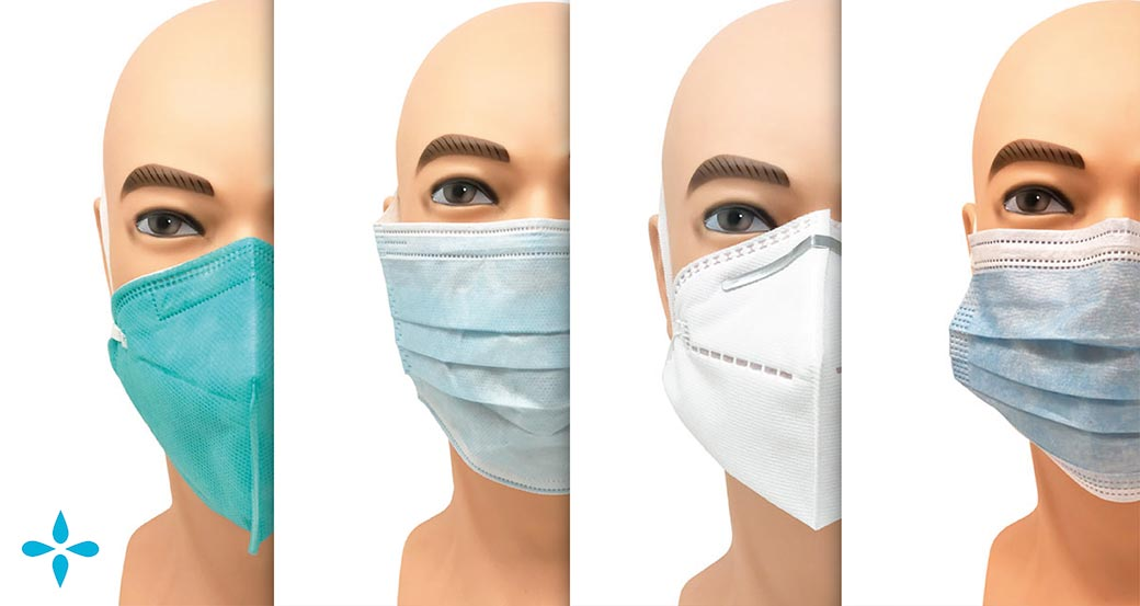 N95 and Type II R face masks